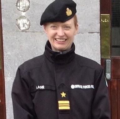 Lieutenant Commander Mary Lane NS Ireland